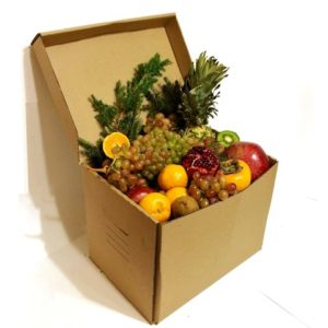 фрукты на новогодний стол