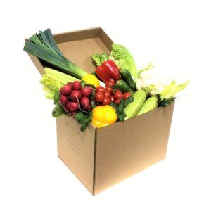 Овощная коробка весенняя