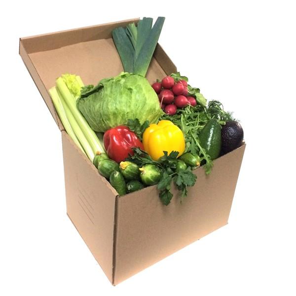 Овощная коробка салатная