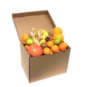 Фруктовая коробка цитрусовая